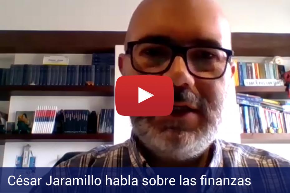 César Jaramillo habla sobre las finanzas a AEI Business School