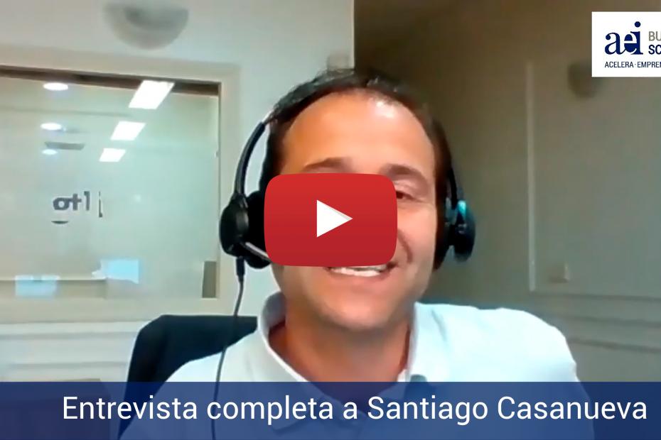 Entrevista completa de AEI Business School a Santiago Casanueva