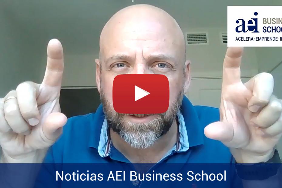 Nuestro CEO Fernando López-Fando comparte buenas noticias de AEI Business School