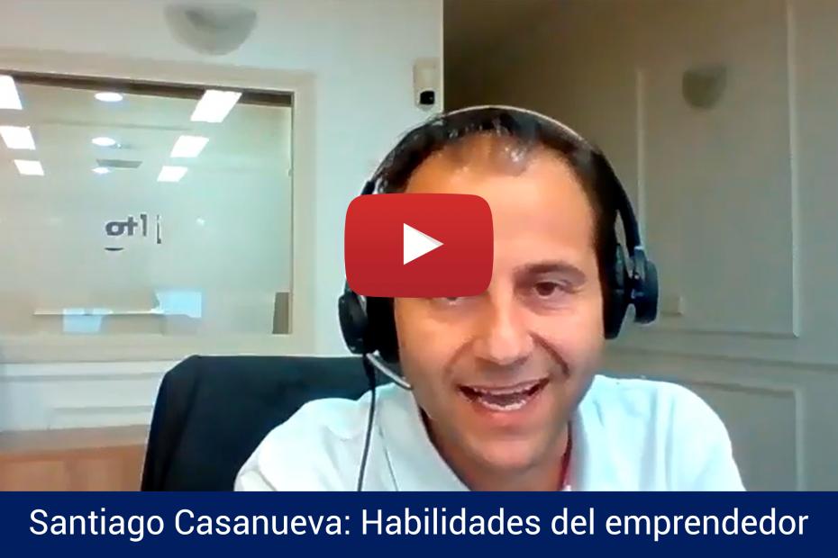 Santiago Casanueva habla sobre las habilidades del emprendedor a AEI Business School