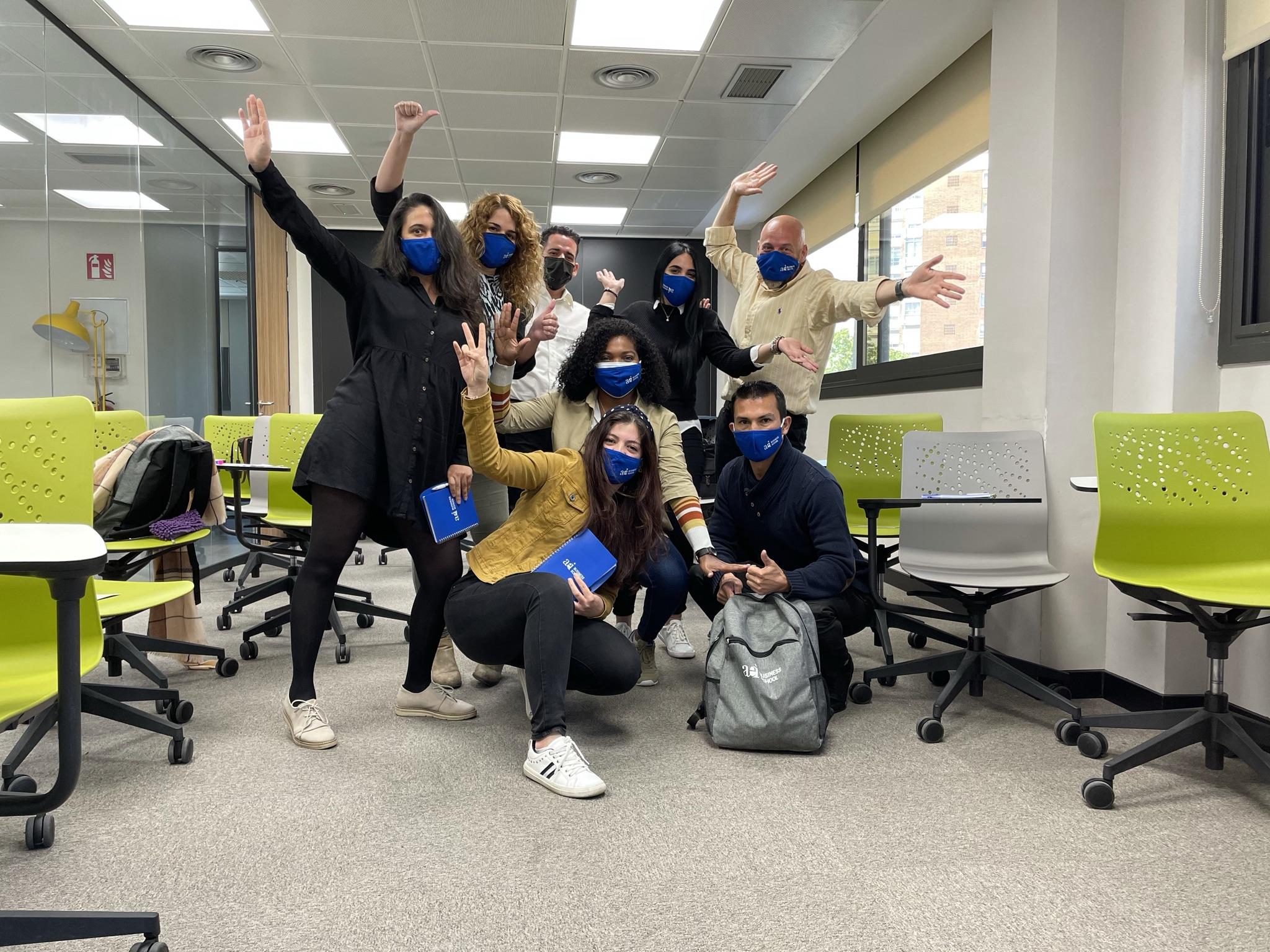 Estudiantes AEI Business School